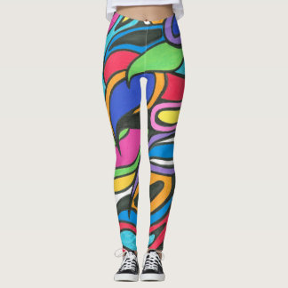 Leggings Guêtres colorées