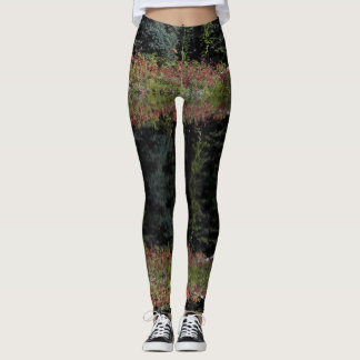 Leggings Guêtres de bouquet de septembre