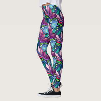 Leggings Guêtres de bruit de couleur