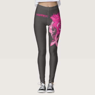 Leggings Guêtres de conscience de cancer du sein de