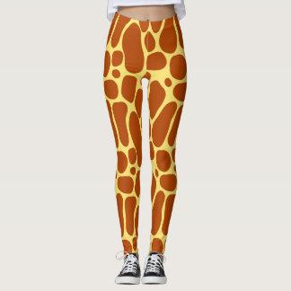 Leggings Guêtres de girafe