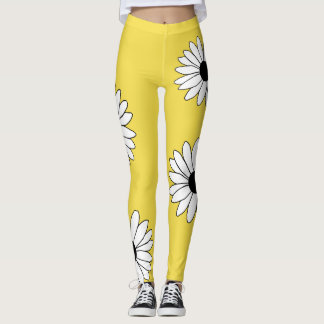 Leggings Guêtres de marguerite
