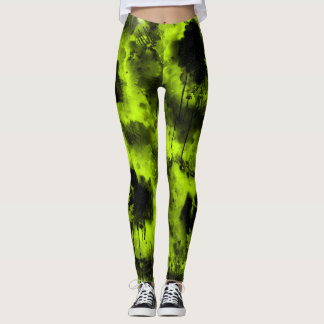 Leggings Guêtres de panique d'arbre