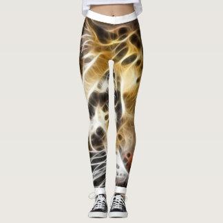 Leggings Guêtres de peau de tigre