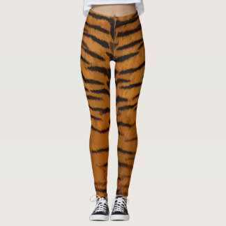 Leggings Guêtres d'impression de tigre