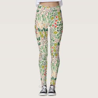 Leggings Guêtres florales de yoga