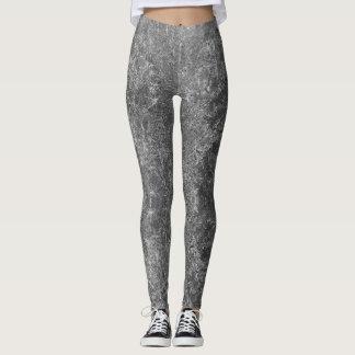 Leggings Guêtres grises concrètes