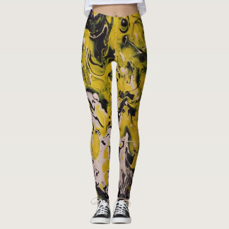 Leggings Guêtres jaunes