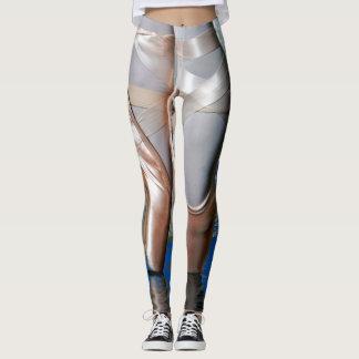 Leggings Guêtres métalliques de ballet