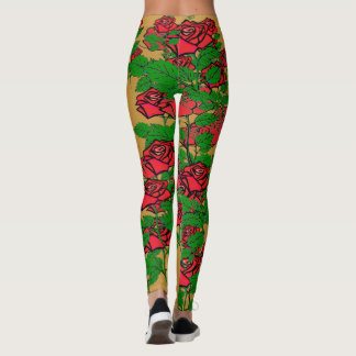 Leggings Guêtres roses