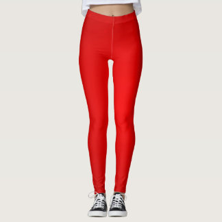 Leggings Guêtres rouges de scintillement