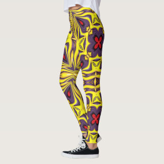 Leggings Guêtres vintages royales de kaléidoscope