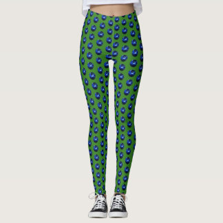 Leggings Guêtres vives de myrtille