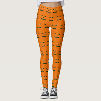 Leggings Huez la conception binaire de Halloween de