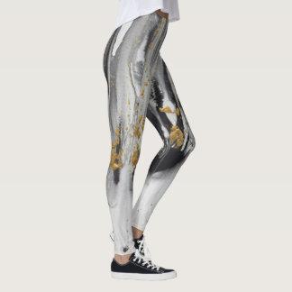 """Leggings La """"évolution modèle #12"""", pantalon de yoga d'art"""