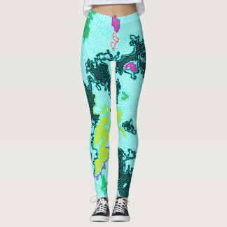 Leggings la terre