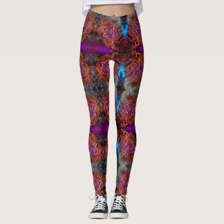 Leggings Le coeur celtique de noeud par Nathan Robert