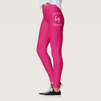 Leggings Le phi MU tressent grand