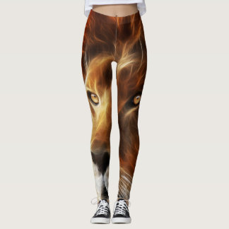 Leggings Lion de Judah - Jah Rasta - guêtres de yoga de