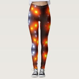 Leggings lumineux brillant