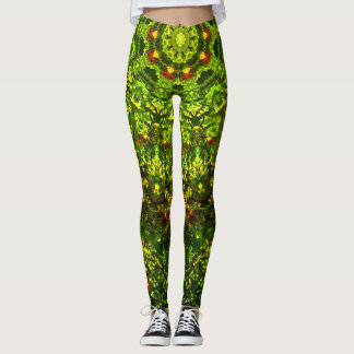 Leggings Mandala naturel