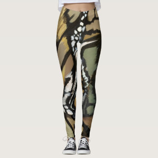 Leggings Mariposa kaki