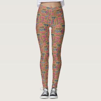 Leggings Motif africain