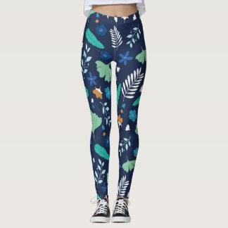 Leggings Motif floral