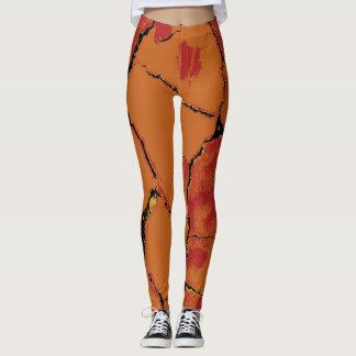 Leggings Motif moderne #8 de peau de léopard