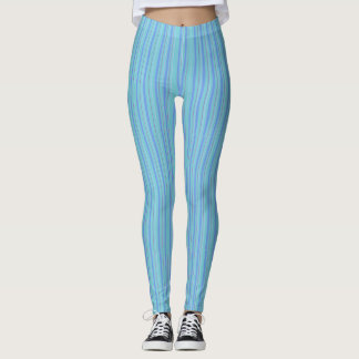 Leggings Myrtille bleue