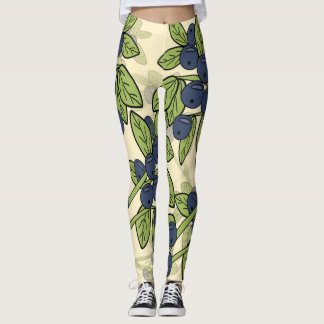 Leggings myrtilles