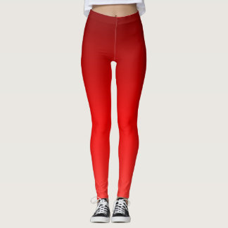 Leggings Ombre rouge