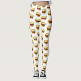 Leggings Pantalon d'hamburger