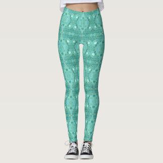 Leggings Pantalon géométrique de yoga de guêtres de sirène
