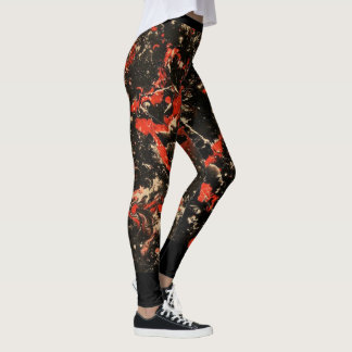 Leggings Peinture abstraite 6 de Marta
