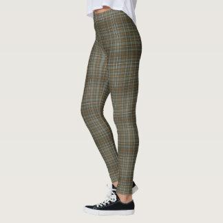 Leggings (plaid gris bronzé)