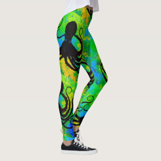 Leggings Poulpe 8 Miami - guêtres