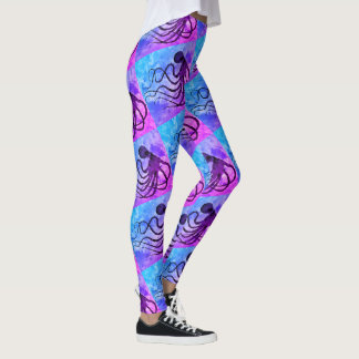 Leggings Poulpe 9 Miami - guêtres