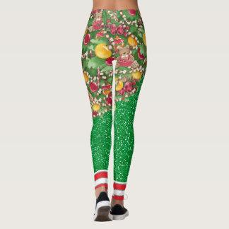 Leggings Quel amusement il est d'être un arbre de Noël