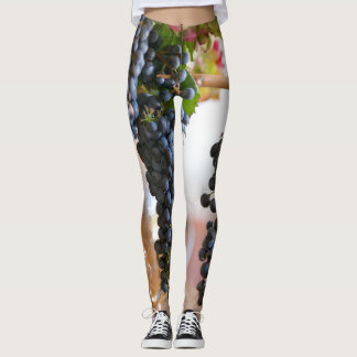 Leggings Raisins pourpres