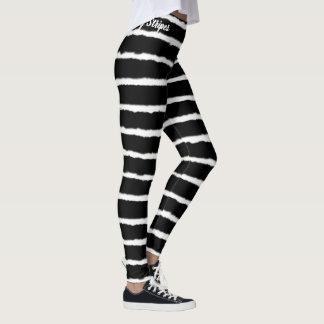 Leggings Rayures tigrées