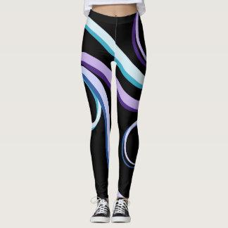 Leggings Remous tricolore