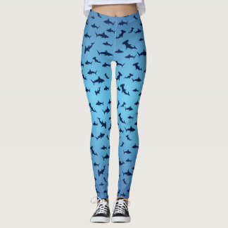 Leggings Requins et requins de poisson-marteau