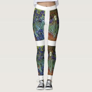 Leggings Van Gogh irise le pantalon de guêtres de