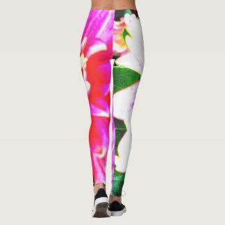 Leggins floraux de ressort leggings