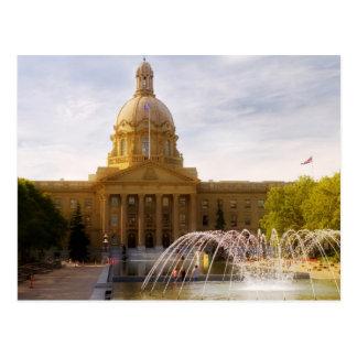 Législature d'Alberta Carte Postale
