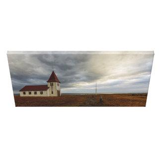 L'église chez Hellnar Toile