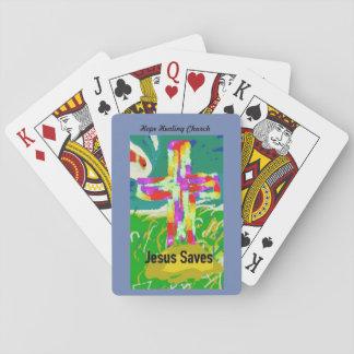 L'église curative Jésus d'espoir sauve des cartes Cartes À Jouer