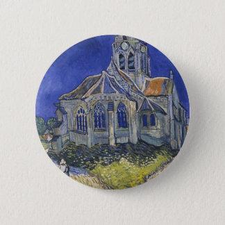 L'église dans Auvers par Vincent van Gogh Badges