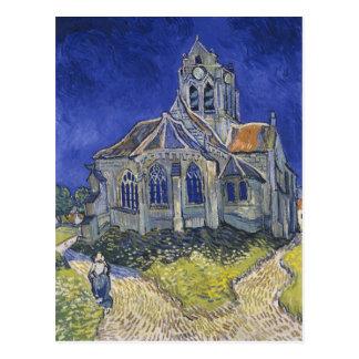 L'église dans Auvers par Vincent van Gogh Carte Postale
